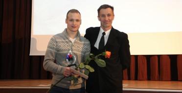 Geriausias 2015 metų ASU sportininkas – Mindaugas Šurmaitis