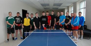 ASU stalo tenisininkai aukščiausioje Lietuvos regionų lygoje!