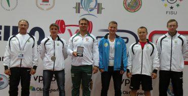 ASU jėgos trikovininkai varžėsi Pasaulio universitetų taurės varžybose