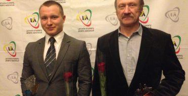 Geriausias 2016 m. ASU sportininkas – Klaudijus Malevskis