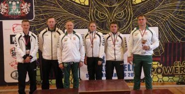 Iš SELL žaidynių ASU jėgos trikovininkai grįžo su medaliais