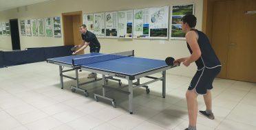 ASU kalėdinis stalo teniso turnyras
